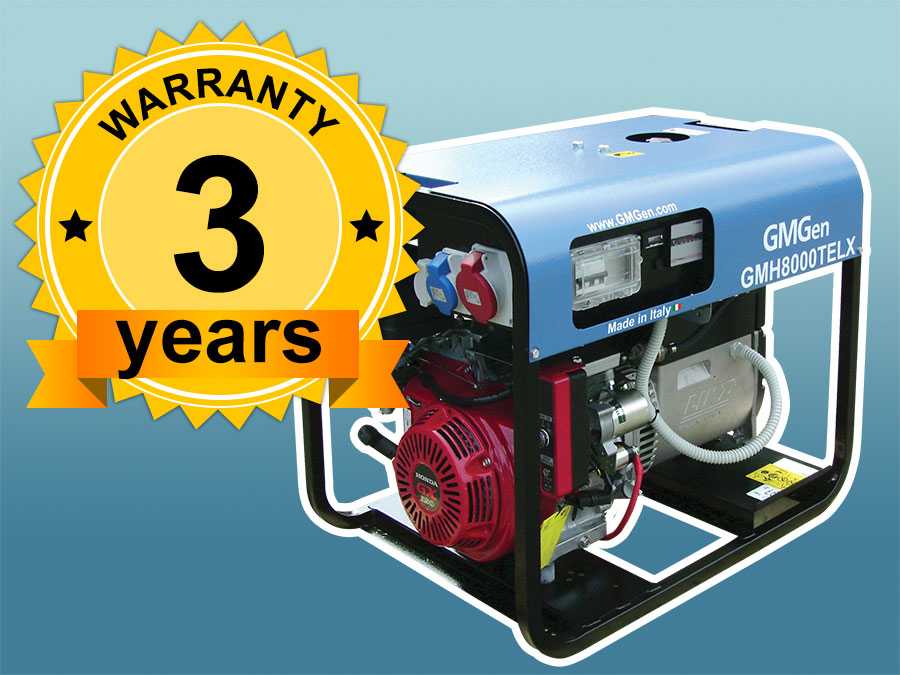 Portable Generators Warranty Expanded