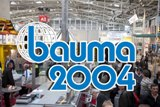 "We invite you to visit Trade Fair for construction machinery ""Bauma + Mining 2004"""