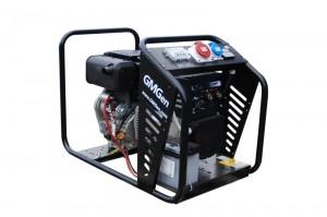 Photo of diesel welding generator GMSD200YTE.