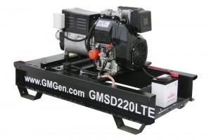 Фотография дизельного сварочного генератора GMSD220LTE.