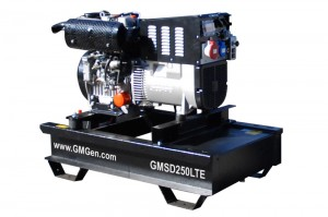 Photo of diesel welding generator GMSD250LTE.