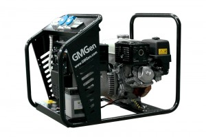 Photo of gasoline welding generator GMSH160E.