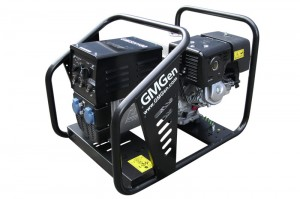 Photo of gasoline welding generator GMSH180.