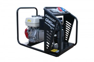 Photo of gasoline welding generator GMSH220T.
