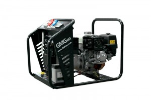 Photo of gasoline welding generator GMSH220TE.